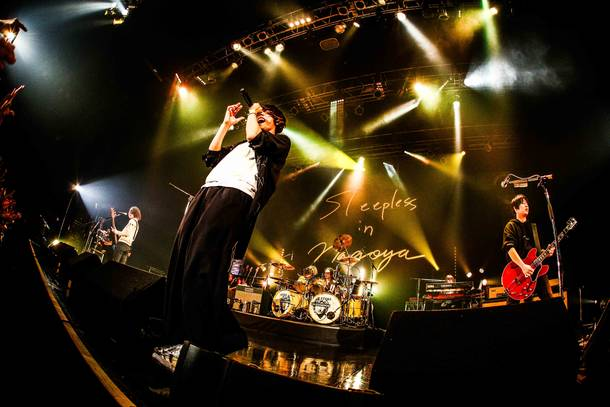 12月4日@Zepp Nagoya photo by 渡邉一生(KAZUKI WATANABE)