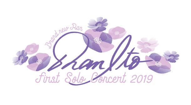 『伊藤 蘭 ファースト・ソロ・コンサート2019』ロゴ