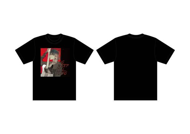 『NO SLEEP TILL TOKYO』ジャケットプリントTシャツ