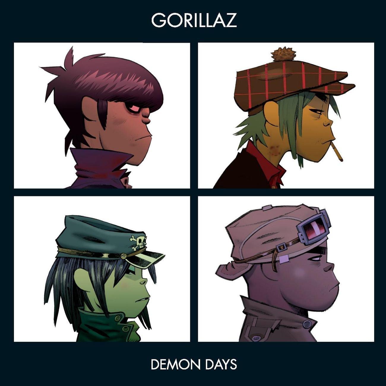 「November Has Come」収録アルバム『Demon Days』/Gorillaz