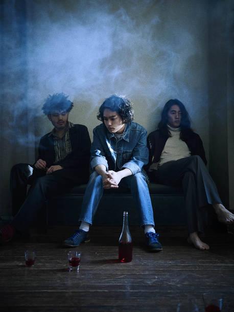 L→R Ryosuke Odagaki、Yuto Uchino、Kaoru Nakazawa