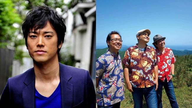 1月22日(金)のMステで話題のCMソング「海の声」を披露する、桐谷健太(左)とBEGIN