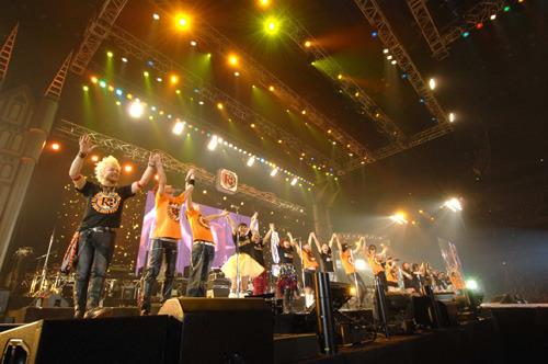 大成功の中、幕を閉じた『Animelo Summer Live 2009 -RE:BRIDGE-』が待望のパッケージ化 (C)Animelo Summer Live 2009/DWANGO