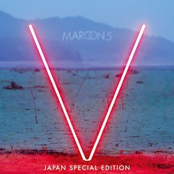 Maroon 5「Maps」収録『V Japan Special Edition』ジャケット画像