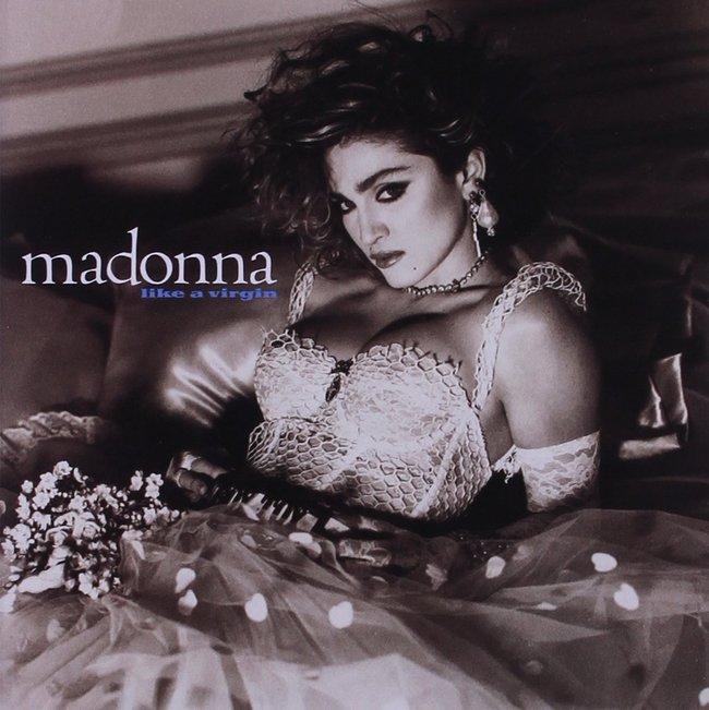 Madonna『Like a Virgin』のジャケット写真