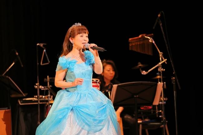 35周年記念コンサートを開催した山野さと子 カメラマン:上田健次