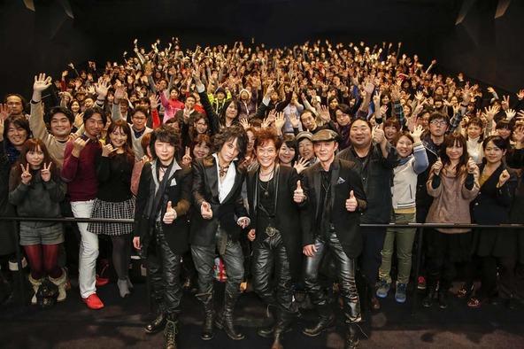 2月22日、東京・新宿ピカデリーでの『T-BOLAN THE MOVIE 〜 あの頃、みんなT-BOLANを聴いていた 〜』 記念上映会 (okmusic UP\'s)