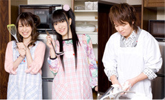左から、木村まどかさん、新谷良子さん、水島大宙さん (c)ListenJapan
