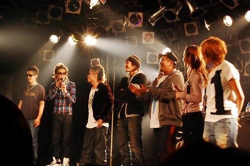 ヒルクライムを中心に、RSP、CLIFF EDGEの3組によるツアーがスタート (c)Listen Japan