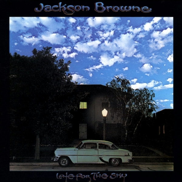 Jackson Browne『Late For The Sky』のジャケット写真