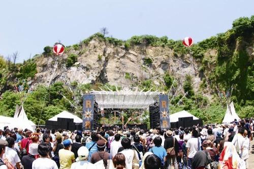 自然の中で開催されるフェス『Rock on the Rock'10』開催決定 (c)Listen Japan