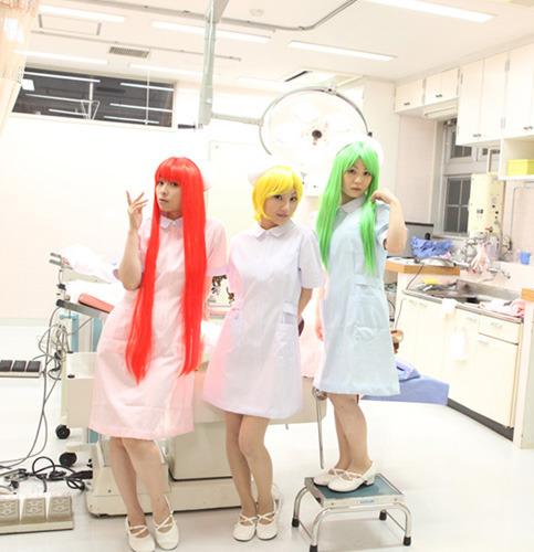 今井麻美、長谷川明子、又吉 愛によるユニット・DG-10 (C)2009 5pb.Inc. (C)Sanodg