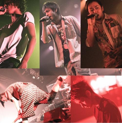 お祭りムード全開、春のスペシャルライヴを開催するORANGE RANGE (c)Listen Japan