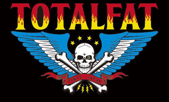 TOTALFAT ロゴ (okmusic UP\'s)