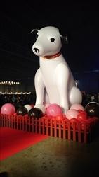 「ビクターロック祭り~2016~」会場のニッパー像