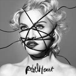 Madonna「Living For Love」収録『Rebel Heart』ジャケット画像