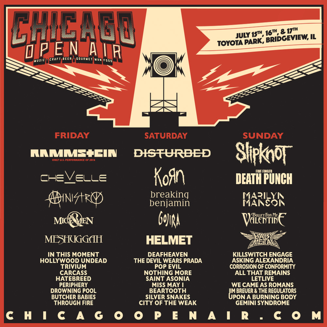 「CHICAGO OPEN AIR」