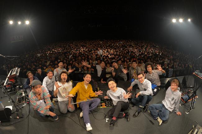 2016年2月21日に放送されるcero×在日ファンク初の2マンライブ