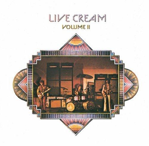 Cream『Live Cream Volume 2』のジャケット写真