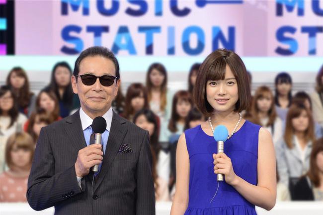 MCのタモリと弘中綾香(テレビ朝日アナウンサー) (C)テレビ朝日