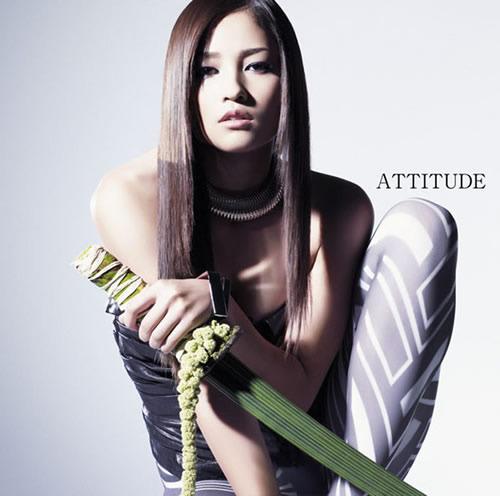 黒木メイサの最新作『ATTITUDE』 (c)Listen Japan