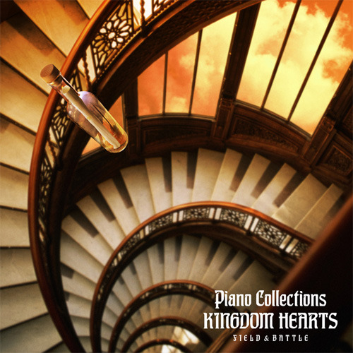 『PIANO COLLECTIONS KINGDOM HEARTS Field & Battle』ジャケット画像 (C)2010 SQUARE ENIX CO., LTD.
