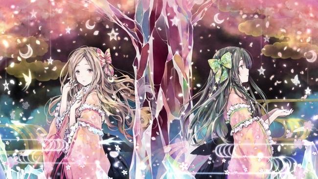 「ひらひら ひらら」ミュージックビデオで描かれるClariSアーティストイラストのアナザーエディション
