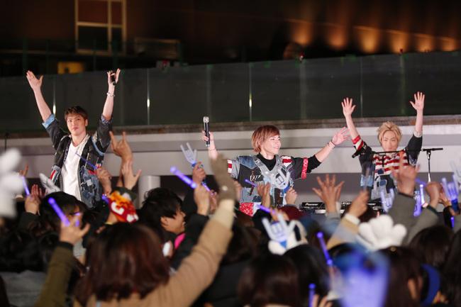 2月24日@ららぽーと豊洲シーサイドメインステージ