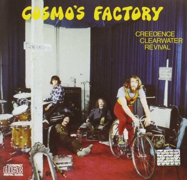 Creedence Clearwater Revival『Cosmo's Factory』のジャケット写真