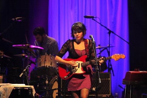 2010年1月、3年ぶりに来日したノラ・ジョーンズ (c)Listen Japan