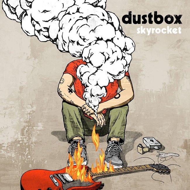 dustbox『skyrocket』のジャケット写真