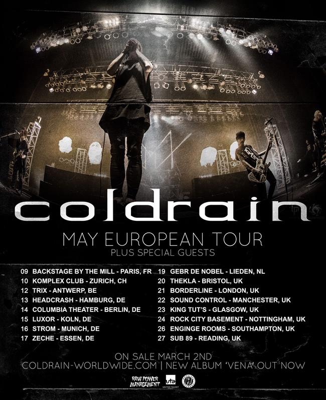 「MAY EUROPEAN TOUR」