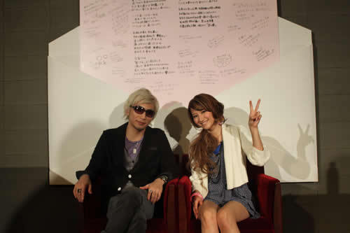 映画「猿ロック THE MOVIE」の主題歌「Love Letter」をシングルとしてリリースするmihimaru GT (c)Listen Japan