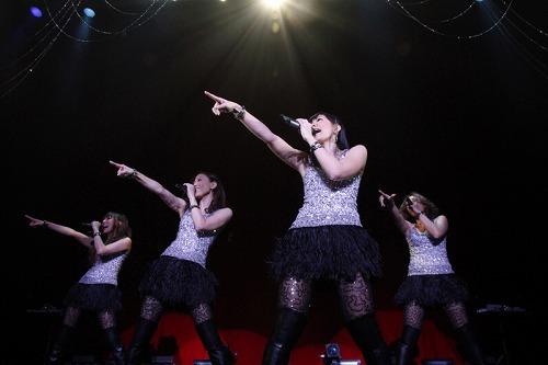 デビュー15周年のMAXがマンスリーライヴ1月公演を開催 (c)Listen Japan