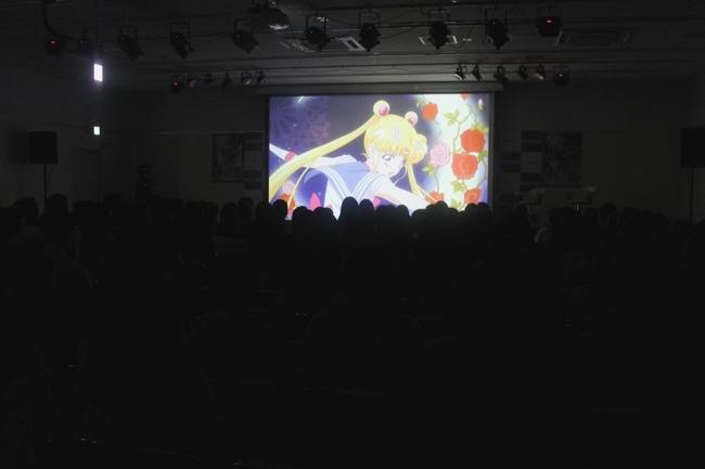 「美少女戦士セーラームーンCrystal」第3期主題歌情報が発表された第1話先行上映会の模様 (C)武内直子・PNP・講談社・東映アニメーション