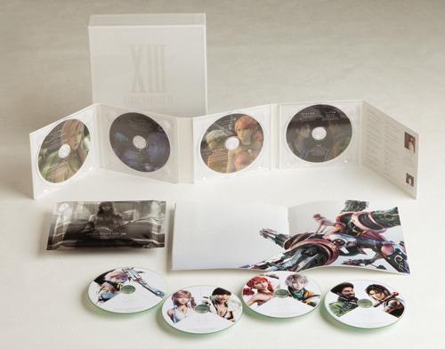 豪華仕様の『ファイナルファンタジーXIII オリジナル・サウンドトラック』 (C)2009 SQUARE ENIX CO., LTD. All Rights Reserved. CHARACTER DESIGN:TETSUYANOMURA