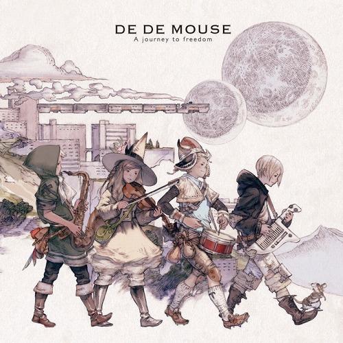 スクウェア・エニックスの吉田明彦氏がDE DE MOUSEのアルバム・ジャケットを担当 (c)Listen Japan