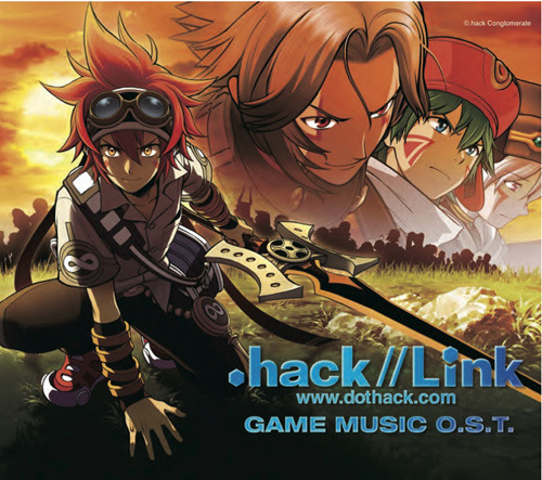 『.hack//Link GAME MUSIC O.S.T.』ジャケット画像 (C).hack Conglomerate (C)2010 NBGI