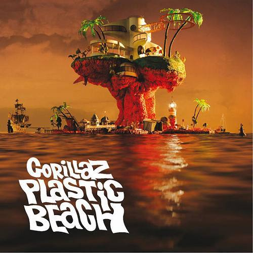 ゴリラズ(Gorillaz)3rdアルバム『Plastic Beach』 (c)Listen Japan
