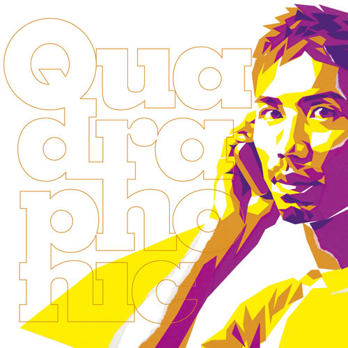 Quadraphonicのアルバム『Quadraphonic』 (c)Listen Japan