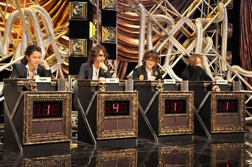 メンバーによるクイズ番組という異色の映像特典「ザ・ラルクイズ」から (c)Listen Japan