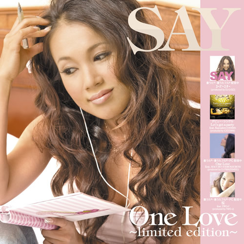 SAYのレンタル限定作品「One Love〜limited edition〜」 (c)Listen Japan