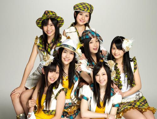2ndシングル「青空片想い」をリリースするSKE48選抜メンバー7名 (c)Listen Japan