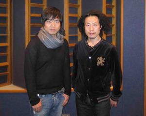 左:中井和哉さん、右:竹本英史さん (C)フロンティアワークス