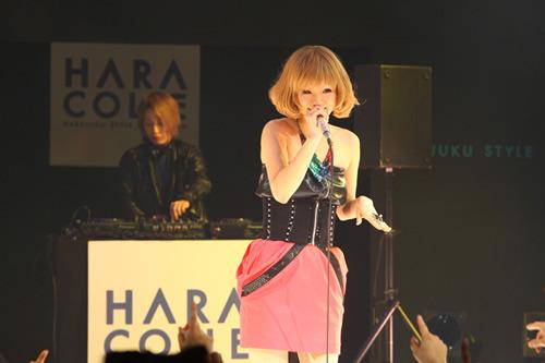 原宿スタイルコレクションのプレイベントを開催したcapsule (c)Listen Japan