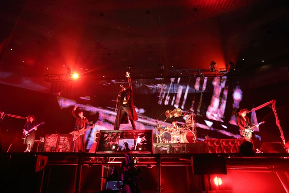 DIR EN GREY 日本武道館公演「DUM SPIRO SPERO」(3月8日) photo by 尾形隆夫 (okmusic UP\'s)