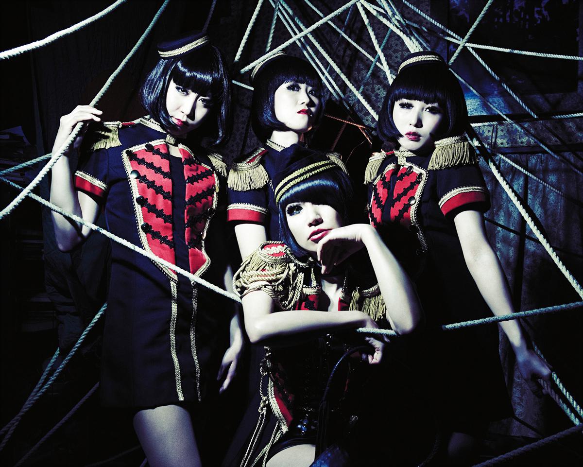 キノコホテル、4枚目となるアルバム『マリアンヌの呪縛』が完成