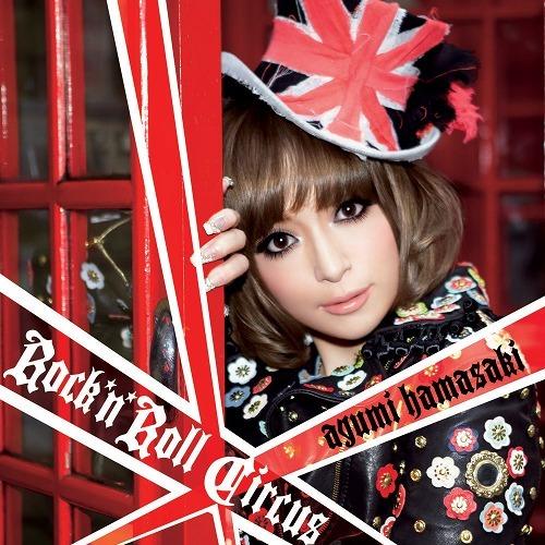 浜崎あゆみ通算11枚目のアルバム『Rock'n'Roll Circus』 (c)Listen Japan