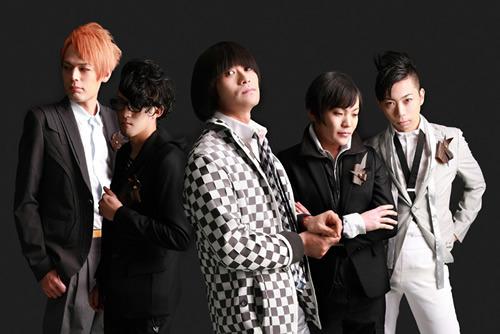 京都発の5ピースバンド・片山ブレイカーズ&ザ☆ロケンローパーティ (c)Listen Japan