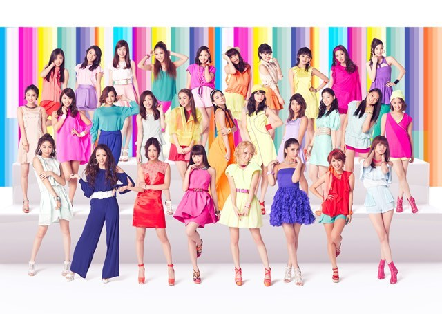 E-girls�A�\�̃Z�N�V�[MV��5���100����Đ��˔j�I